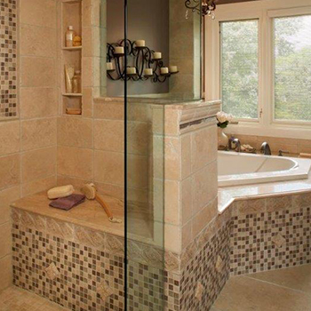 One of our bathroom renovations in the Cambridge area