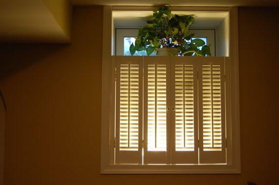 basement window shutter extensions