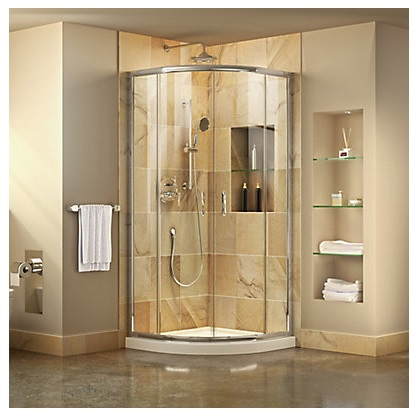 pre-fabricated shower stall