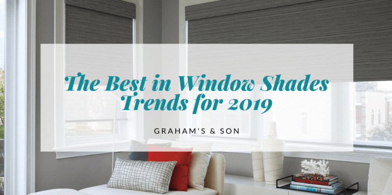 The best in window shades trends 2019 graham 39 s and son - Window treatment trends 2019 ...