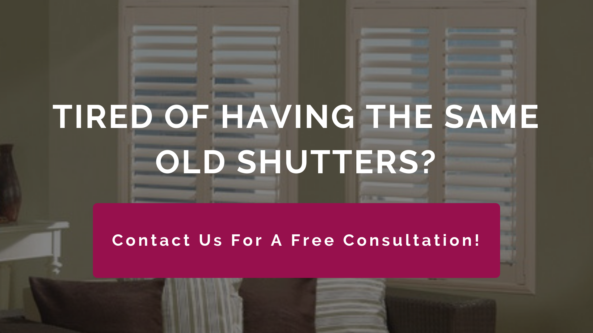 Stunning High Quality Shutters Free In Home Consultation